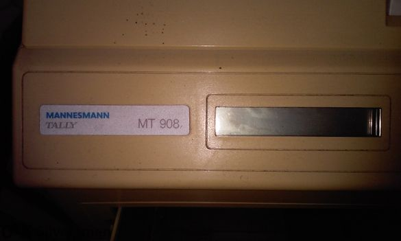 Лазарен принтер Мannesmann Тally Mt 908