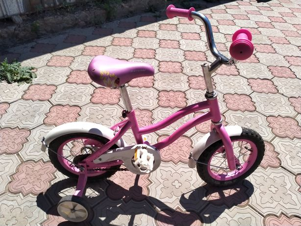 Велосипед детский девочковый