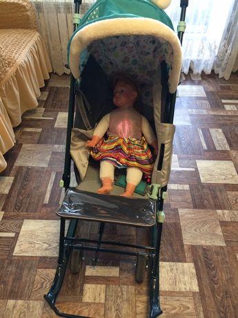 Детская прогулочная всесезонная коляска