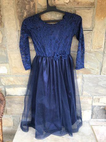 официална дълга рокля + подарък портмоне