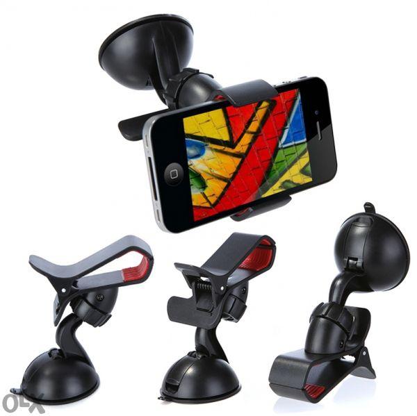 Универсална стойка поставка щипка за кола за телефон Самсунг и др.