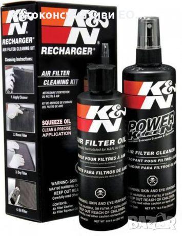 Комплект за почистване на спортни филтри К&N