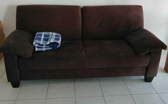 Canapea + fotoliu din catifea