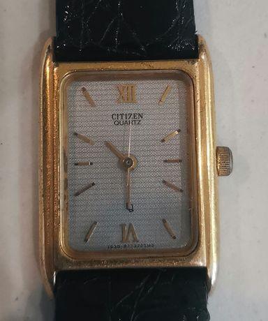 Дамски позлатен кварцов часовник Citizen