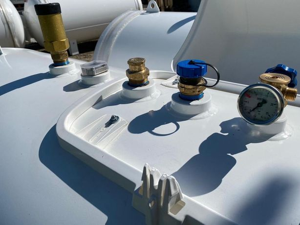 Rezervor GPL 3000l/butelie propan/recipient gaz/placuta 2021