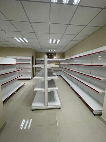 Мебель для магазинов полки стеллажи прилавки торговое оборудование для