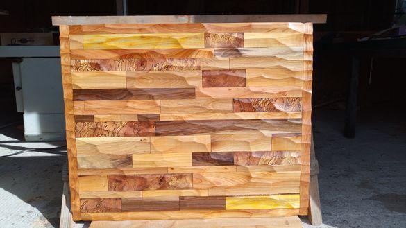 Дървено пано (дърворезба)