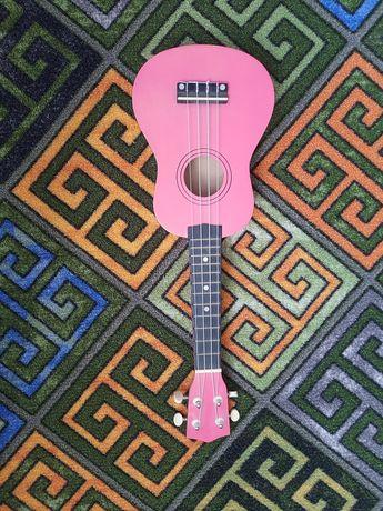 Продам укулеле розовый