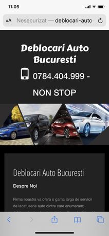 Deblocari usi auto BMW,VW,Logan,Opel,Ford,Skoda