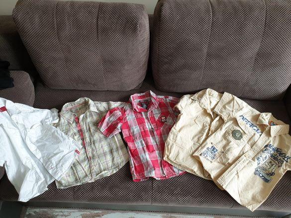 Ризи за момче къс ръкав 4г.