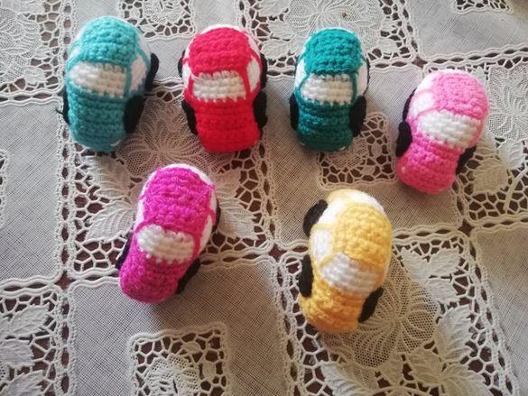 Детски плетени колички