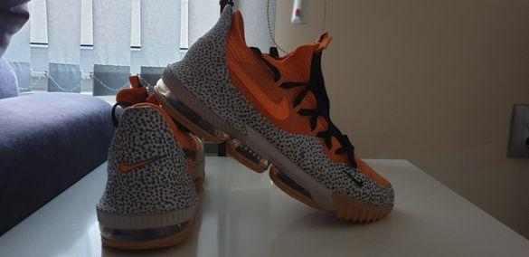 Nike Air Max Lebron James 16 Low Safari Mens Size 45/29см ОРИГИНАЛ!