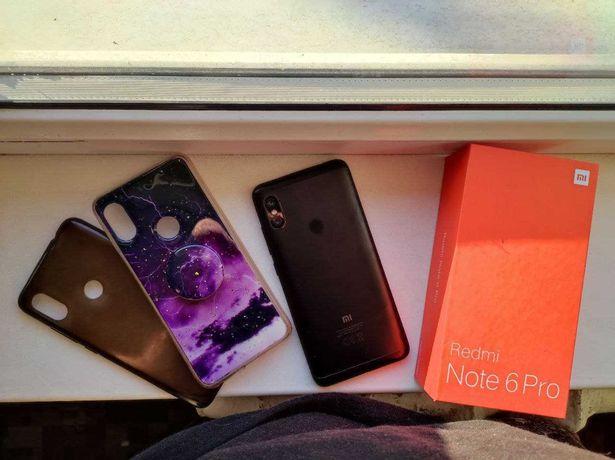 Продам смартфон XIAOMI redmi note 6 pro 3/32GB черный