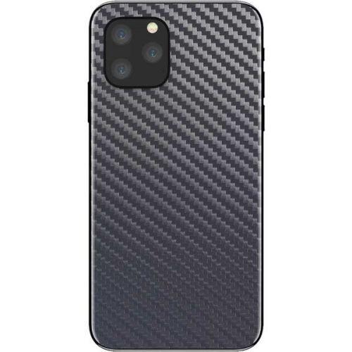 Folie carbon full back cover iPhone 11, 11 Pro, 11 Pro Max Ploiesti - imagine 1