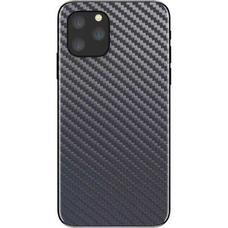 Folie carbon full back cover iPhone 11, 11 Pro, 11 Pro Max