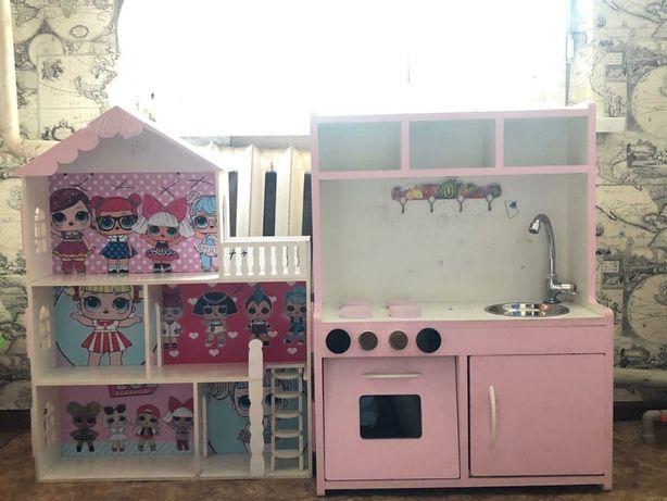 Кукольный домик +Кухня