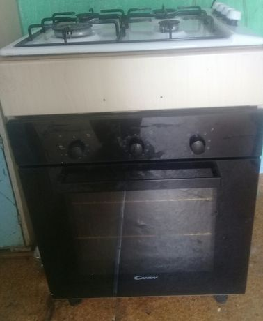 Продам газовую плиту встраиваемый с электрическим духовым шкафом