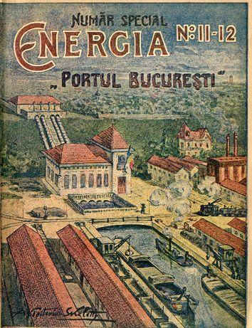 Colectie Completa Revista Energia anii '20 Dimitrie Leonida nr.1-12