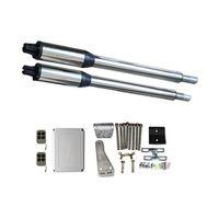 Kit Automatizare Porți Batante 200kg/brat cu telecomanda poarta