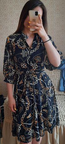 Продам новое шифоновое платье