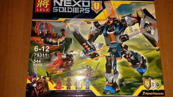 НАМАЛЕН! Нексо конструктор Nexo Knights The Black Knight Mech 544 част