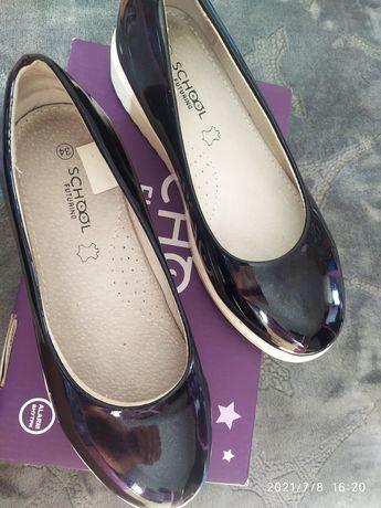 Туфли на девочку 34 размер