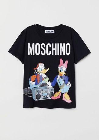 Tricou original H&M Moschino, marimea M
