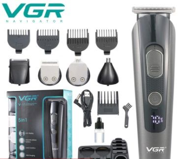 Триммер для бороды VGR V-175 5в1