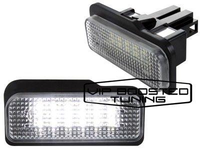 Set 2 lampi numar led canbus dedicate MERCEDES CLS W219 2004-2011