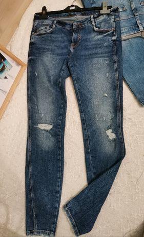 Zara - дънки, ниска талия