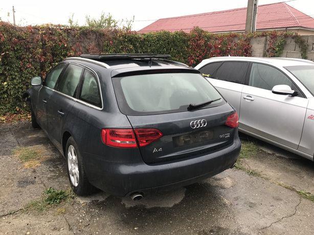 Dezmembrez Audi A4 B8 3.0 tdi quattro CAPA