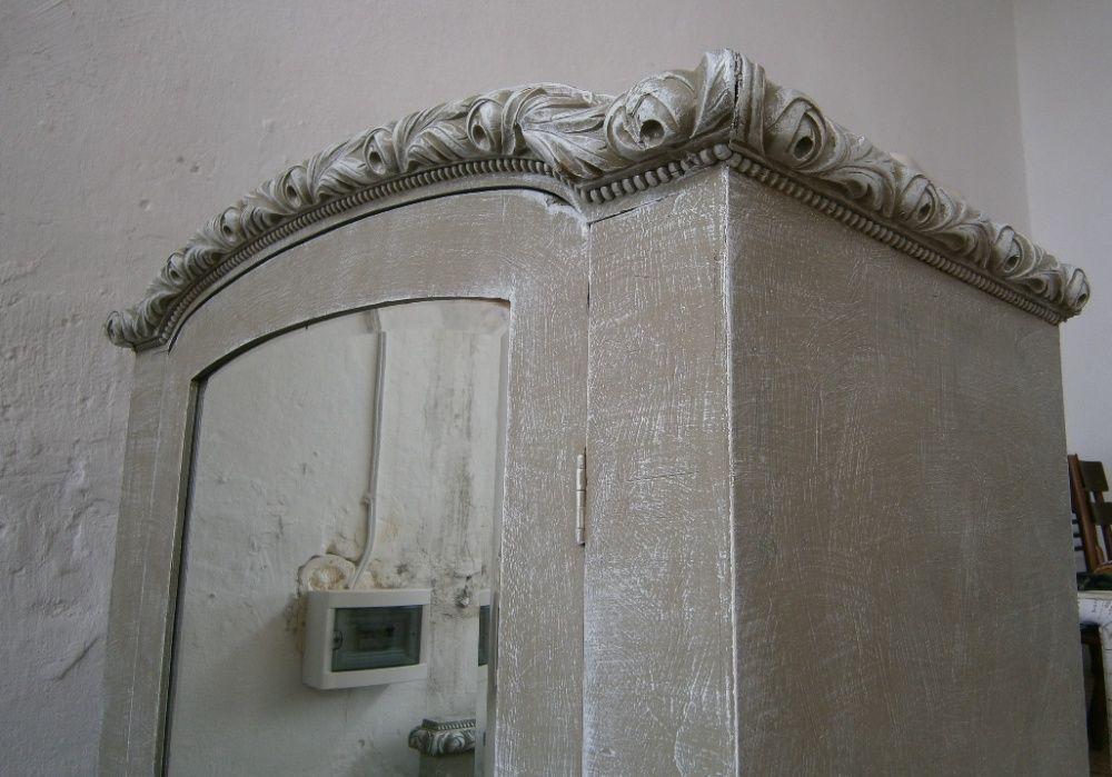 Dulap vechi din lemn reconditionat (Sifonier/Cuier/Mobila veche) Bucuresti - imagine 1
