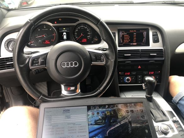 Диагностика на VW, Audi, Skoda, Seat, регенеряция DPF