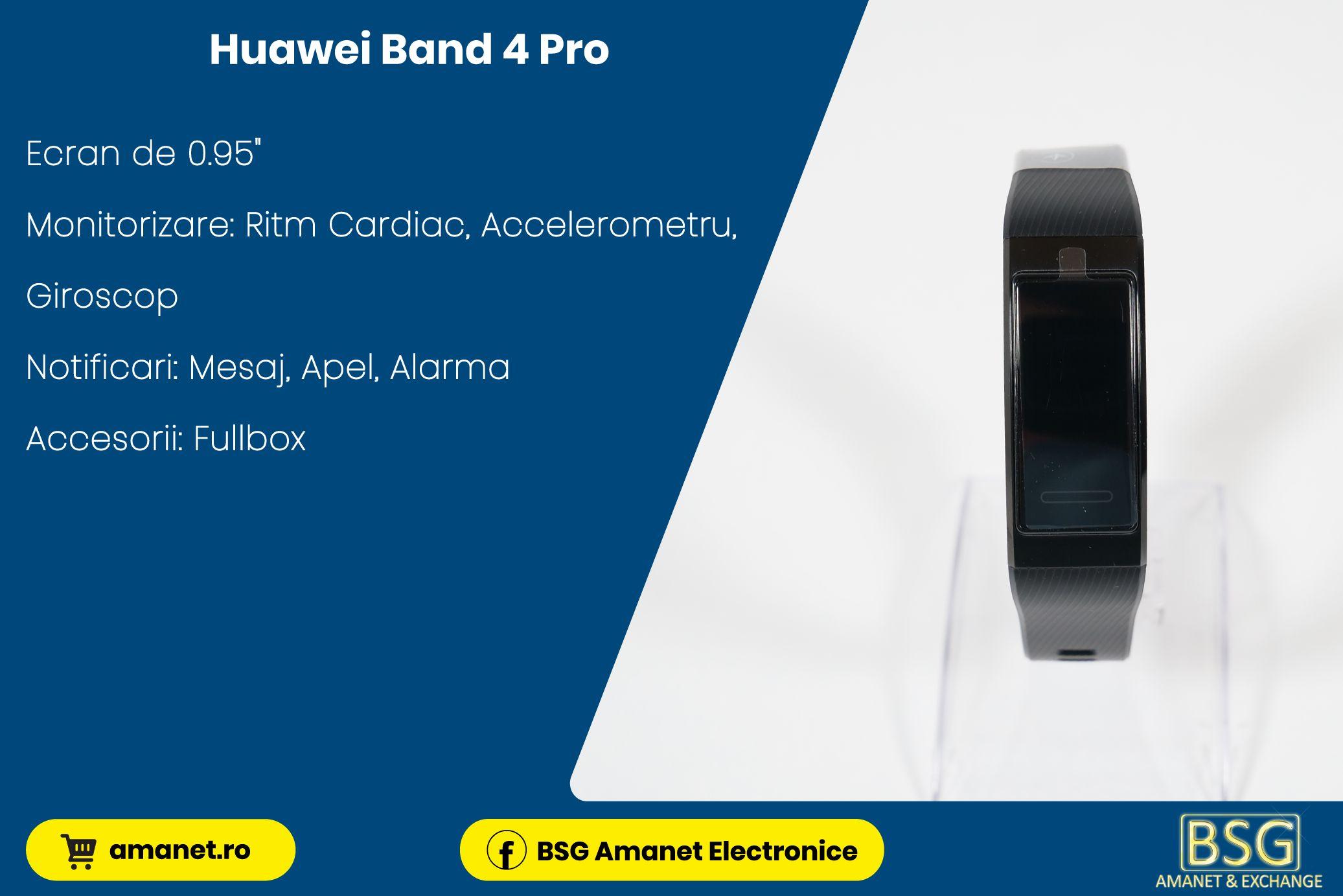 Bratara Fitness Huawei Band 4 Pro - BSG Amanet & Exchange