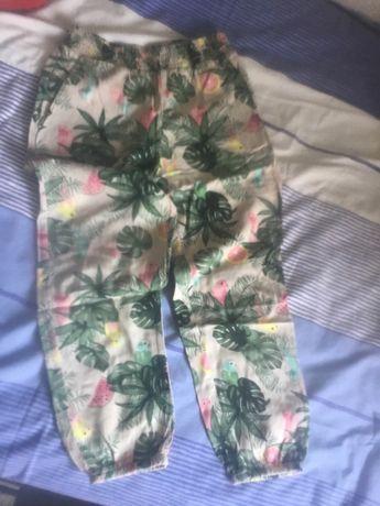 Pantaloni subțiri, vara
