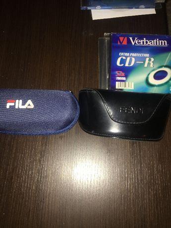 2 бр калъфи за слънчеви очила FENDI и FILА