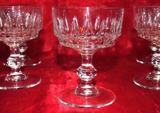 Serviciu 6 Pahare din cristal autentic, Reims-France, ABSOLUT NOI