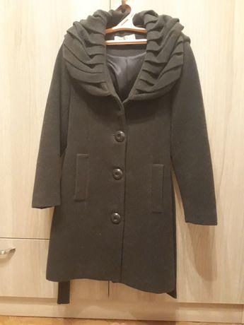 Детское серое пальто