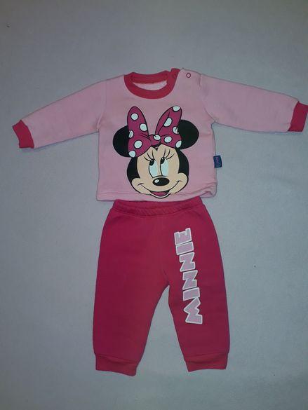 Детски ватиран комплект, подходящ за 4 - 6 месечно момиченце