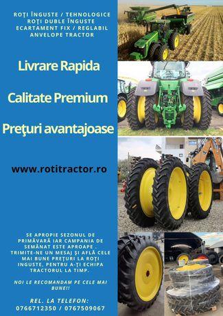 Roti inguste tehnologice pentru orice model de tractor - NOI,