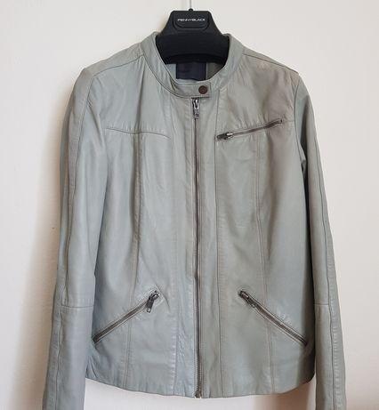 Jachetă gri de piele firma Minimum!