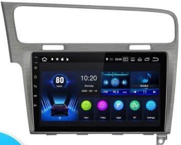 Navigatie Android 9.1 -10 inch-VW Golf 7 +Rama-dedicata Gri+Canbus-Nou
