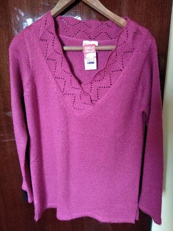 Дамска плетена блуза, с етикета.