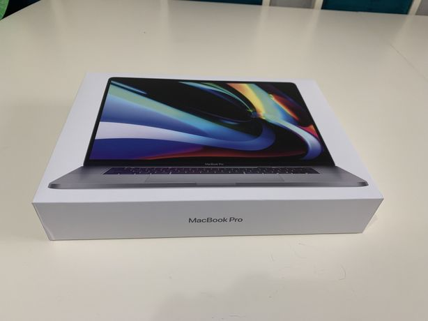 Macbook Pro 16 с Touch Bar