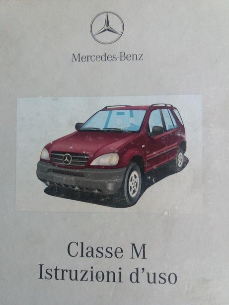 Carte de exploatare Mercedes ML (M-class) lb.italiana