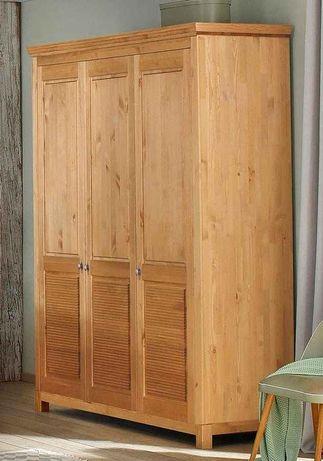 Dulap cu 3 uși din lemn de pin