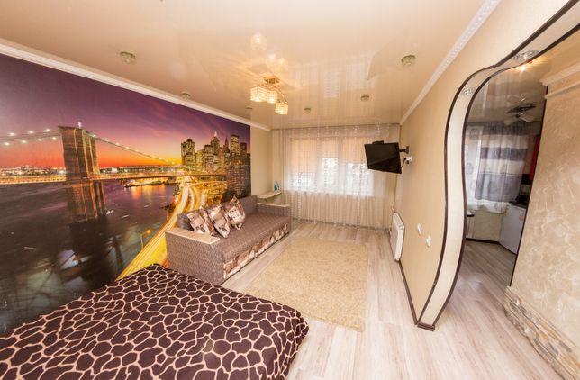 1 Ком. Квартира Люкс По часам от Vita Haus. Р-н: 3 Бани. КТВ / Wi-Fi.