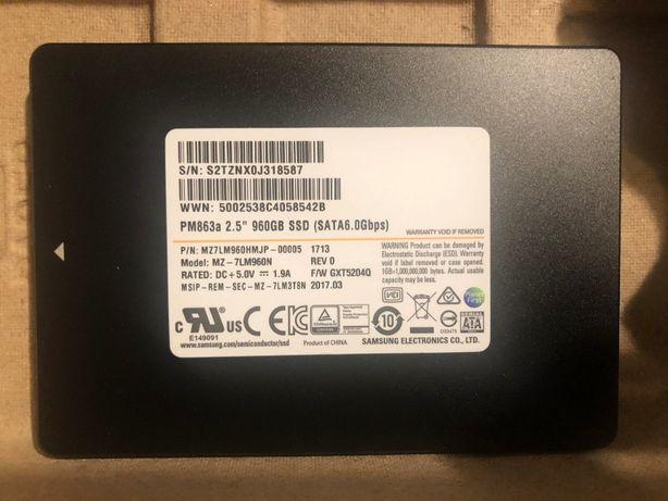 """SSD Samsung PM863a 2.5"""" 960GB SSD SATA3 6Gb/s"""