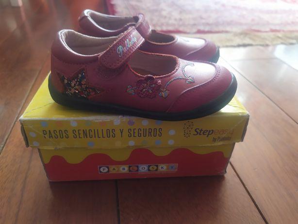 Туфли для девочек испанского производителя pablosky