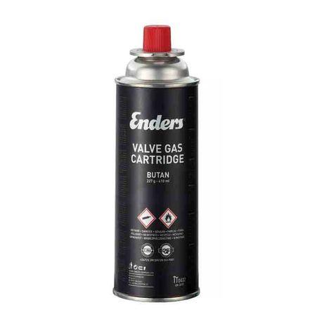 Еднократна газова бутилка Enders 227 g, за къмпинг котлони